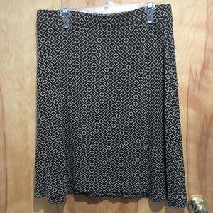Ann Taylor elastic waist skirt